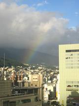10/08の虹
