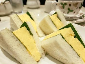 厚切り卵サンド