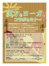 漢方&ヨーガコラボセミナー