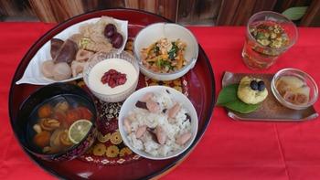 北浜的台湾市場〜秋のうるおし薬膳、町家の室礼と共に2