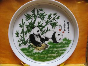パンダのお皿