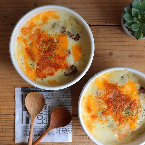 雑穀米とサルシッチャのドリア