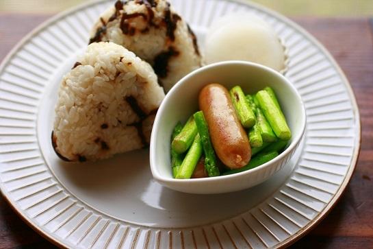 生鮮米で朝ごはん&晩ごはん