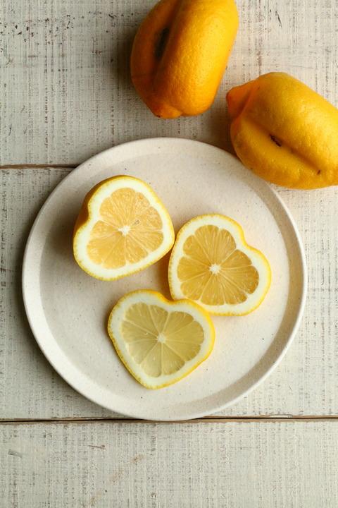 かわいい!ハートの瀬戸内レモン