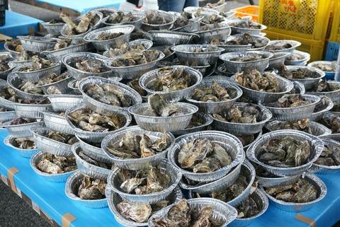 安浦牡蠣祭り!