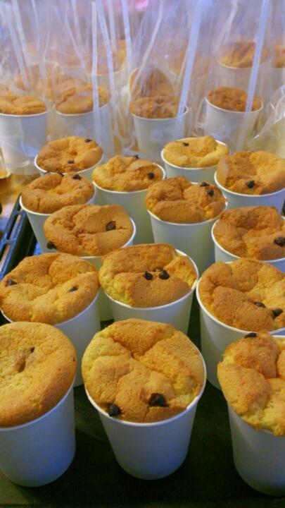 きび砂糖シフォンケーキ