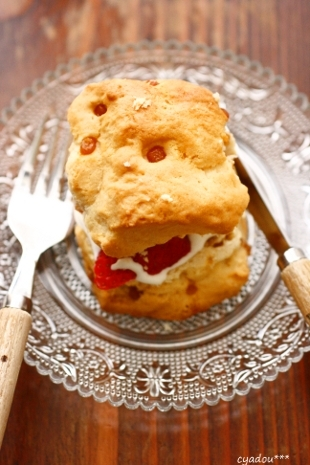 scone~ストロベリーショートケーキ~