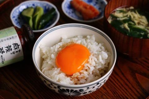卵かけごはんの朝