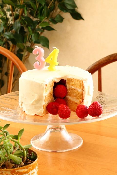 かくれんぼケーキとマスカルポーネ奴【レシピ】
