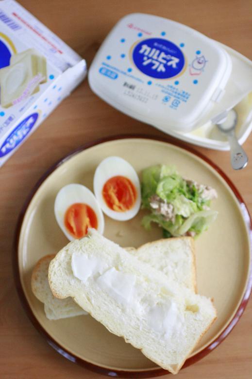 カルピスソフト×ふんわり食パン