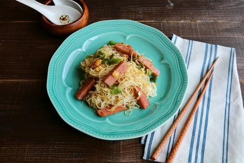 ガーリック素麺チャンプルー【レシピ】