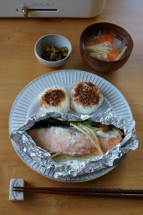 和ンプレートで朝定食と新しい出会い