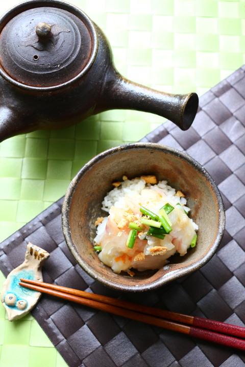 中華風鯛茶漬け<レシピ>とイカフライのこと