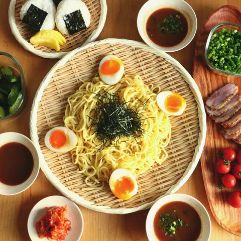 昨日と今日の晩ごはんメニュー(麺×麺)