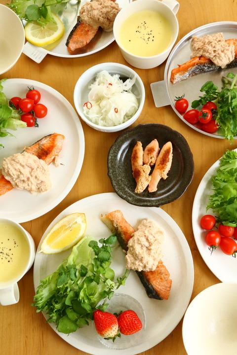 鮭のソテー~ツナマヨソース~【レシピ】