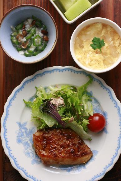 白身魚のメープルマスタードソテーと流行りのお菓子!?