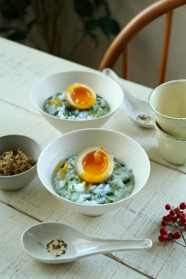 七草粥の朝ごはん