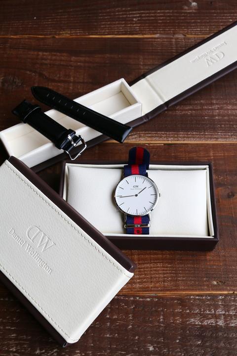 ダニエル・ウェリントンの腕時計