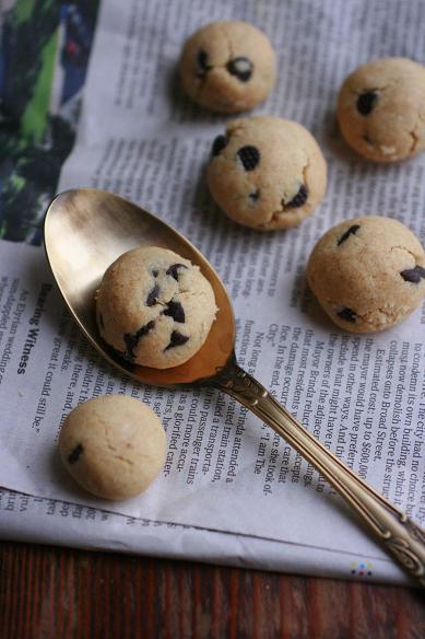 チョコチップのころころクッキー
