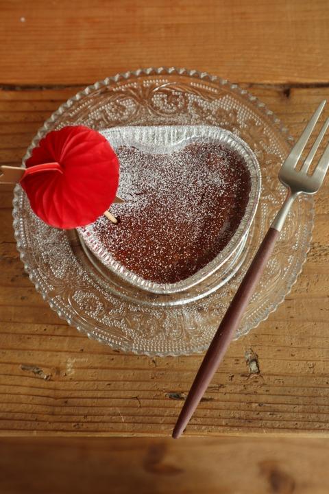【簡単】トースターで5分!板チョコ1枚でチョコチーズケーキ