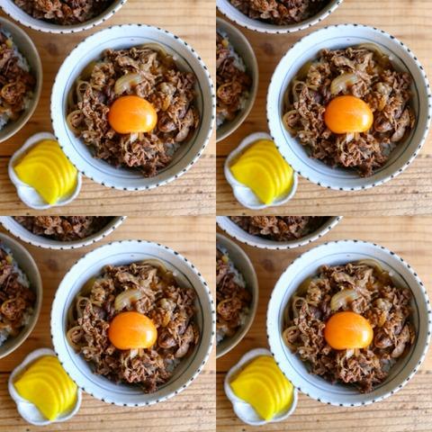 炊飯器で牛丼!簡単レシピ