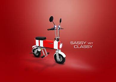 反則レベルにかわいいEVバイク「モトチンプ」が登場 「あの名車」を思い出すデザイン