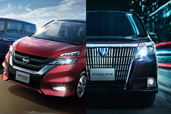 【悲報】最近のトヨタと日産、全車にダサいグリルを統一してしまう