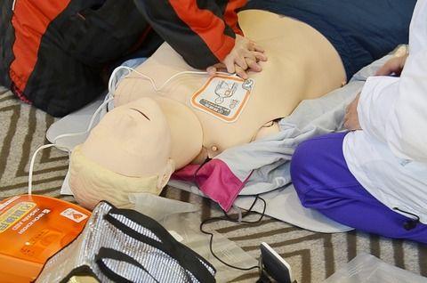 明日教習所で応急救護やるんだが
