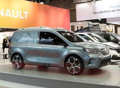 ルノー カングー 次期型、EVコンセプト発表…2020年に市場へ