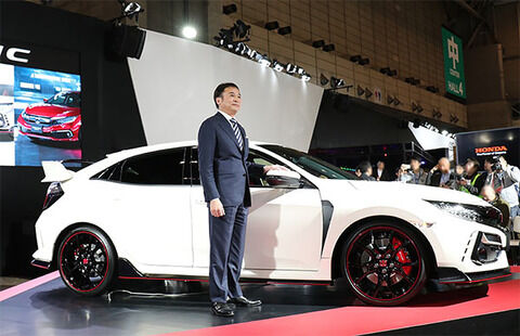 【車】HONDAのFFスポーツカー「シビックタイプR」 東京オートサロン2020で初公開!