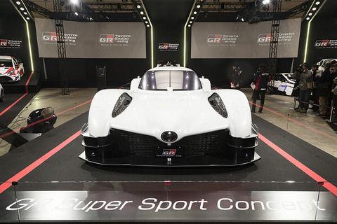 トヨタ「これが次世代のスーパースポーツカーだ!」 試作車を世界初公開