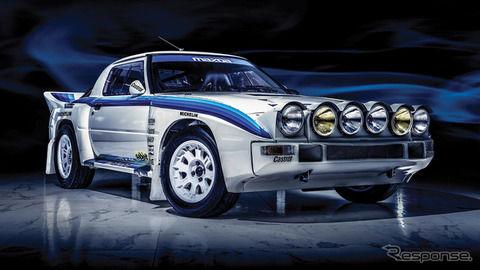 初代マツダ RX-7、希少なグループBラリーカーがオークションに…生産台数7台