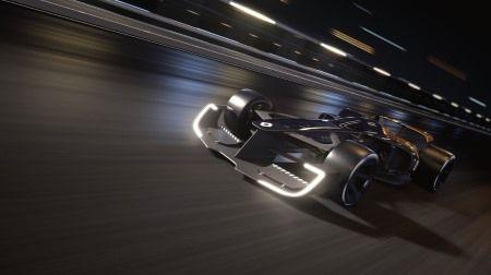 ルノー、上海モーターショーで2027年のF1マシンコンセプト「R.S.2027 Vision」を発表