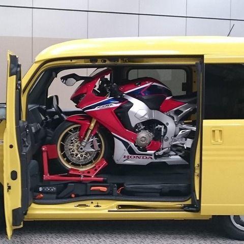 バイク乗り「N-VANに大型バイク載せられるぞwwwうおおおお!!」ホンダ「は?」