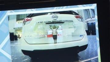 【技術】「前の車が透ける!」 ミライの技術 暮らしが「便利」に「安全」に シーテックジャパン