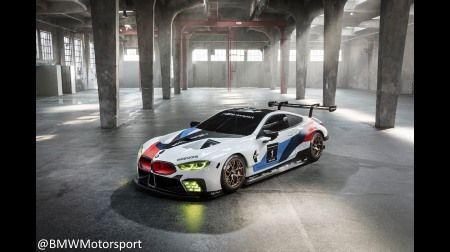 WEC/ル・マン24時間 etc.:「BMW M8 GTE」が登場@フランクフルトモーターショー2017