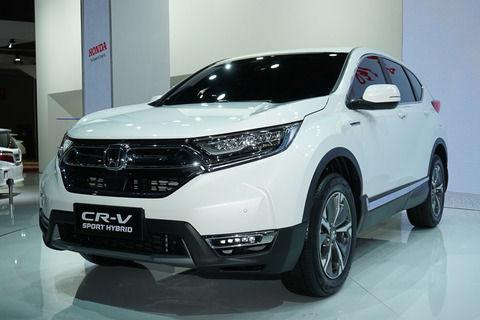 【ホンダ】CR-Vハイブリッドきたー!!基本的にエンジンは発電用でモーターのみ走行 高速走行ではエンジン走行!