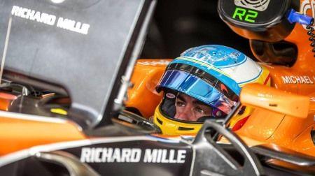 F1バーレーンGP:マクラーレン・ホンダのアロンソ、驚く