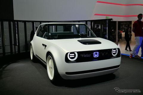 ホンダ アーバンEVコンセプト 発表…2019年の市販EV示唆