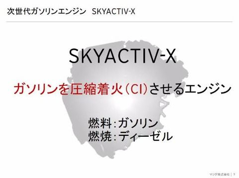 マツダ、ガソリン初の圧縮着火エンジン「SKYACTIVE-X」実用化