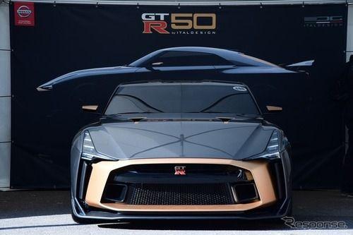 【画像】1億円の特別仕様GT-R、実車がお目見え ナマズみたい