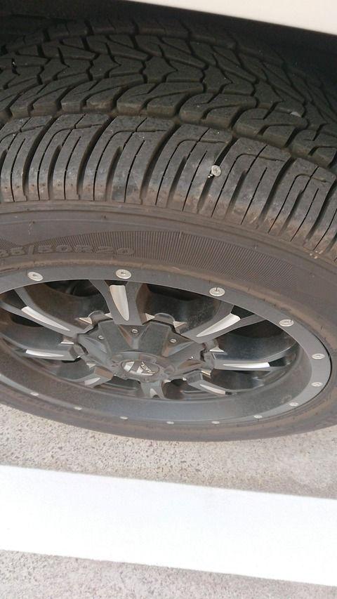 【画像】俺の車に釘さしたやつ出てこいよwwwwwwwwwwwwwwwwwwwwww
