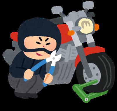 ワイ大阪市民、バイクを盗まれる