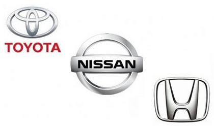 3大自動車メーカー、トヨタ、日産、ホンダ←これ