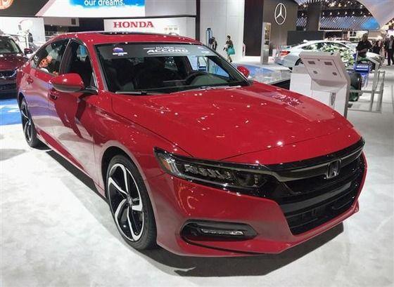 ホンダ・アコードが北米最優秀車に3年連続受賞