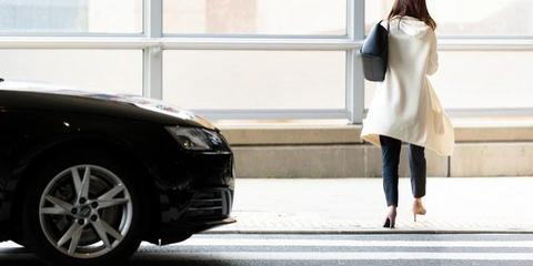 京都で横断歩道渡ってたら車に早く渡れってクラクション鳴らされたwwwwww
