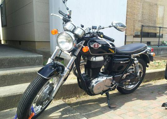 自分のバイクの写真を貼って自慢するスレ