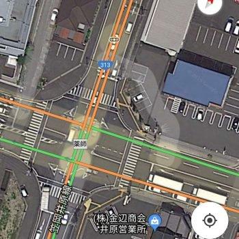 Googleマップ見にくいんじゃい IDにバイクの名前が出たらネ申