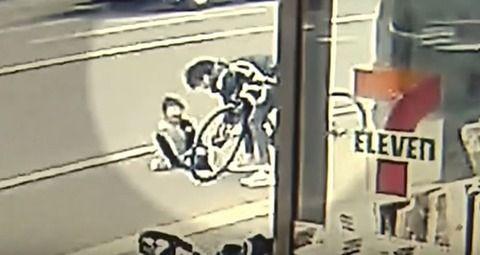 コンビニ前で、7歳男児が自転車でひき逃げされ大けが 札幌市の大学生(20)を逮捕