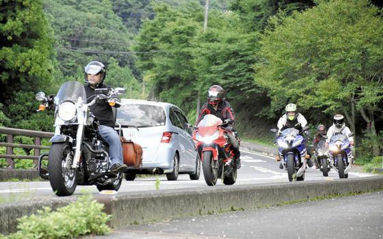 千葉の「もみじロード」でバイク事故増加…ユーチューバーに警告も